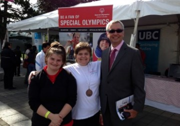 Welcome Back Staff BBQ showcases UBC hosting 2014 Special Olympics